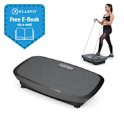 Vib 1000 Vibration Plate 5 Modes Adjustable Duration & Intensity Black Black