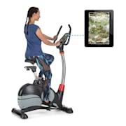 Arcadion Gaming Bike szobabicikli, pulzusmérő, Bluetooth, tartó a kormányon, fekete Fekete