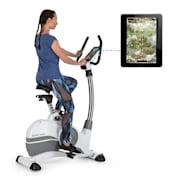 Arcadion Gaming Bike, uređaj za mjerenje pulsa, držač na upravljaču, bijela boja Bijela