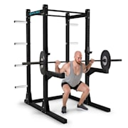 Bestride Power Rack 2 Safety Spotter 2 J-Cups 2 Pull- Up Bars