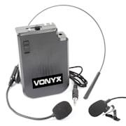 VPS10BP UHF Headset Kit con Trasmettitore Tascabile per Sistemi UHF e Impianti PA