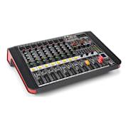 PDM-M804A, mixážní pult, 8x mikrofonní vstup, 24-BIT MULTI-FX-PROCESOR, USB přehrávač