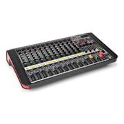 PDM-M1204A, mixážní pult, 12x mikrofonní vstup, 24-BIT MULTI-FX-PROCESOR, USB přehrávač