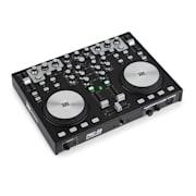 PDC09, MIDI kontrolér, 2-kanálový mixážny pult, 2 jogwheely, 3-pásmový ekvalizér