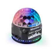 PLS10 Jellyball 3x 1W und Ring mit 48 RGB-LEDs Lautsprecher BT MP3-Player