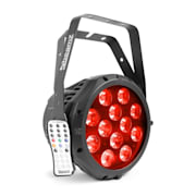 BWA412 Alluminio IP65 Professional LED Par 12x18W LED 6in1 RGBWA-UV