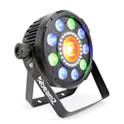 BX96 PAR 9x9W 6in1 RGBW-UV LEDs 24xSMD-LEDs COB-Technologie Fernbedienung
