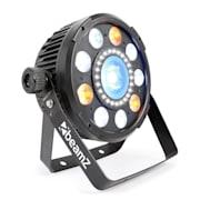 BeamZ BX94 Par 9x 6 W 4V1 RGBW LED, stroboskop S 24 SMD LED diodami, dálkové ovládání