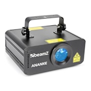 Ananke Laser 3D Red, Green and Blue DMX/Stand-alone Mode Remote Control