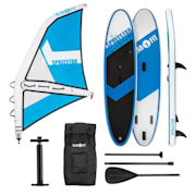 Spreestar WS Inflatable Paddle Board SUP Board Set 300 x 10 x 71 Blue-White S
