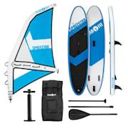Spreestar WM, daska za veslanje na napuhavanje, SUP-Board-Set, 300x10x71, plavo-bijela boja M