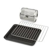 Blaise 3-częściowy zestaw akcesoriów: ruszt grillowy, blacha do pieczenia &koszyk do grillowania