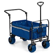 Easy Rider Handcart up to 70kg Telescopic Rod Collapsible blue Blue