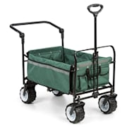Easy Rider Handcart up to 70kg Telescopic Rod Collapsible green Green