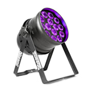 BPP230 PAR 64 LED reflektor, 14x15 UV-LEDky 150W DMX, černá barva
