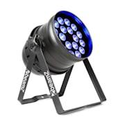 BPP100 PAR 64 reflektor projektor LED 18x6 RGBW 60W czarny