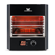 Steakreaktor Pro Indoor grill ad alta temperatura Made in Germany nero