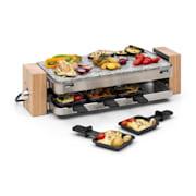 Prime-Rib raclette-grilli, 1500 W, luonnonkivi, kotelo ruostumattomasta teräksestä