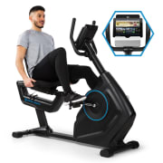 CAPITAL SPORTS Evo Deluxe, bicicletă cardio, Bluetooth App, 20kg, volant Evo Deluxe - 20 kg