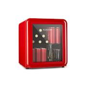 PopLife, chladnička na nápoje, chladnička, 48 litrov, 0 - 10 °C, retro dizajn, červená Červená | 48 litrov