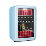 PopLife Frigorifero per Bevande 115 Litri 0-10 °C Design Rétro blu blu   115 Ltr