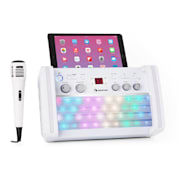 DiscoFever 2.0, sistem de karaoke, BT, LED multicolor disco, CD / CD + G player Alb