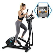 Helix Track Cross Trainer Bluetooth App 18kg Flywheel flywheel 18kg