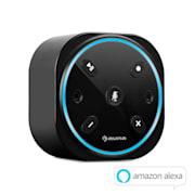Intelligence Plug, bezdrôtový inteligentný reproduktor, Alexa-VoiceControl, ovládanie hlasom Čierna