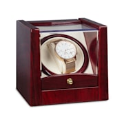 Cannes Watchwinder 1 Watch Clockwise / Counterclockwise Running 2160 TPD Rosewood Look
