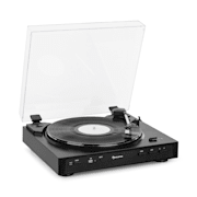 Fullmatic Fully Automatic Turntable USB Preamp Black Black