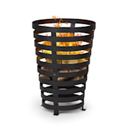 Verus Fire Basket Made of Steel Stable Stance Robust Black