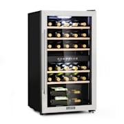Vinamour 29 Duo wijnkoelkast 2 zones 80L/29 flessen 5-22°C  touch 29 flessen | 2 koelzones