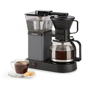 GrandeGusto koffiezetapparaat 1690W 1,3l pre-infusion 96°C zwart Zwart