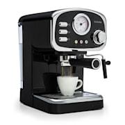 Espressionata Gusto, espresso aparat za kavo, 1100 W, tlak 15 bar, črna  Črna