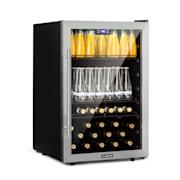 Beersafe 5XL refrigerator 148 litres 3 shelves panorama glass door stainless steel  148 Ltr