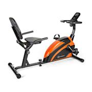 Relaxbike 6.0 SE ergometro sdraiato 12kg di massa volanica resistenza magnetica 100kg arancio