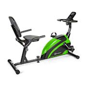 Relaxbike 6.0 SE liggergometer 12kg svängvikt magnetmotsånd 100kg Svart