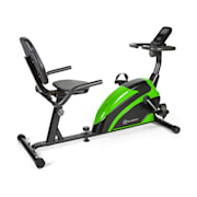 Relaxbike 6.0 SE lig-ergometer 12kg vliegwiel magneetweerstand 100kg Zwart