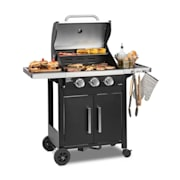 Tomahawk 3.0 T barbecue à gaz 3 x brûleurs 3,2 kW grille de cuisson 53 3 brûleurs