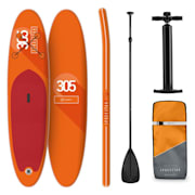 Spreestar Inflatable Paddle Board SUP Board Set 305x10x77 Orange Orange