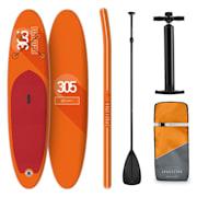 Spreestar, paddleboard na napuhavanje, Sup-board-set, 305 x 10 x 77 cm, narančasta boja Naranča