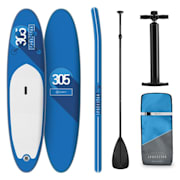 Spreestar Inflatable Paddle Board SUP Board Set 305x10x77 Blue Blue