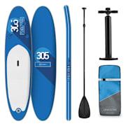 Spreestar, felfújható paddleboard, SUP deszka, 305 x 10 x 77 cm, kék Kék