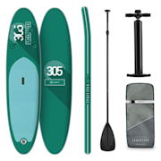 Spreestar Inflatable Paddle Board SUP Board Set 305x10x77 Turquoise Turquoise
