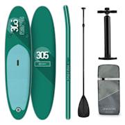 Spreestar, paddleboard na napuhavanje, Sup-board-set, 305 x 10 x 77 cm, tirkizna boja Tirkiz