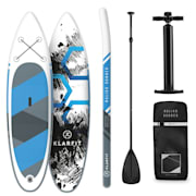 Maliko Runner Inflatable Paddle Board SUP Board Set 305x10x77 Blue Blue
