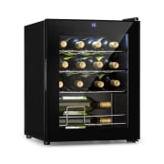 Shiraz Wine Refrigerator 42l Touch Panel 131W 5-18 ° C Black 42_liter_16_bottles