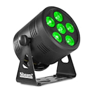 Professional BBP66 Uplight PAR LED-Strahler 6x 4in1 RGBW LEDs schwarz