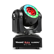 Illusion 1 Moving Head LED Beam with LED Ring Black