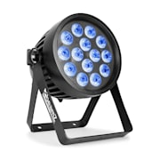 Professional BWA 520 Aluminium IP65 LED Par Foco led 14x 18W 6in1-LED Negro